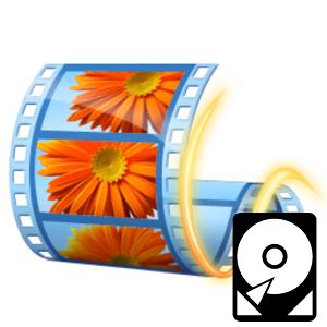 Логотип Windows Movie Maker местонахождение