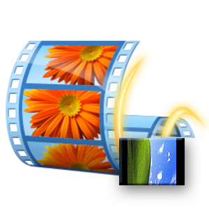 Логотип Windows Movie Maker поворот