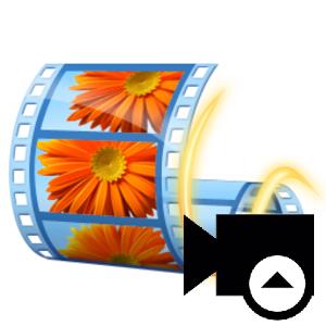 Логотип Windows Movie Maker загрузка видео