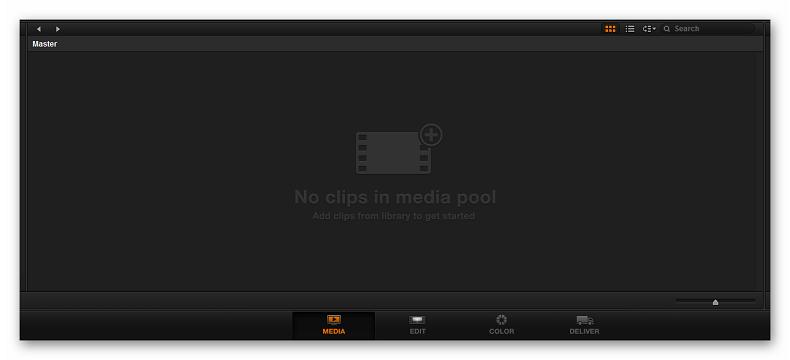 Импорт видеофайлов