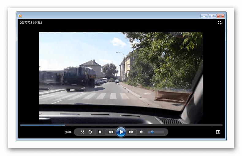 Работающее видео в Windows Media