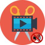 Убрать звук в Movie Maker